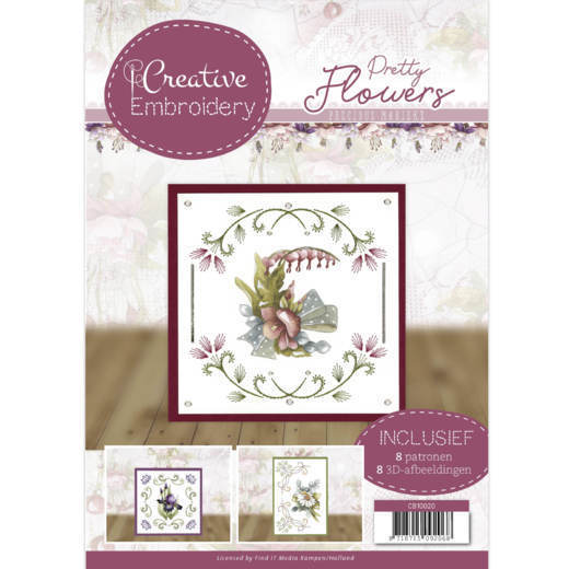 Creative Embroidery - Precious Marieke - Pretty Flowers