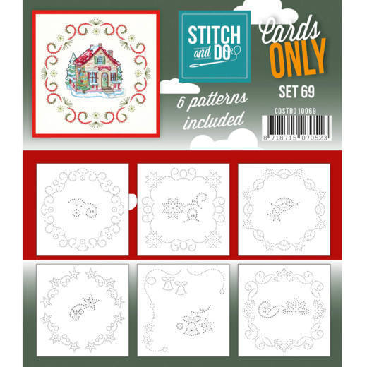 Stitch and Do Cards Only - set 69