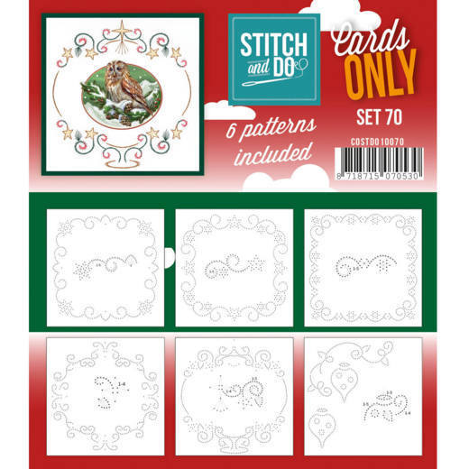 Stitch and Do Cards Only - set 70