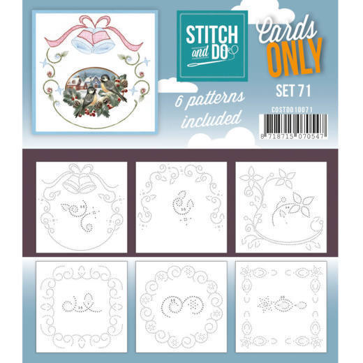 Stitch and Do Cards Only - set 71