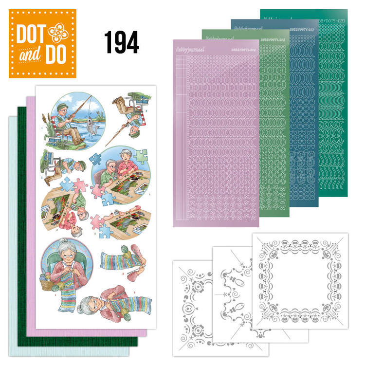 Dot & Do Hobbydots Pakket - knitting