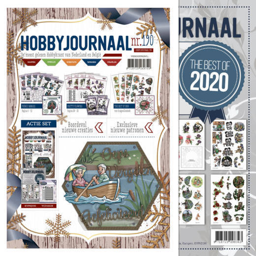 Hobby Journaal 190 met knipvellenboek The Best of 2020