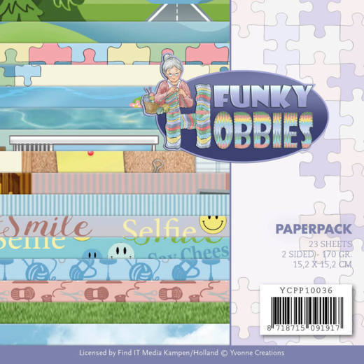 Paper Pack Yvonne Creations - Funky Hobbies