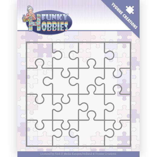 Yvonne Creations Stans - Funky Hobbies - puzzle