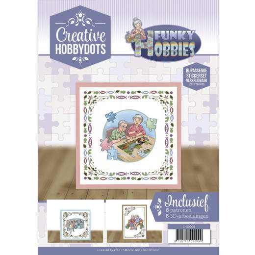 Creative Hobbydots 9 - Yvonne Creations - Funky Hobbies