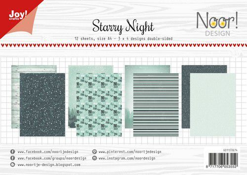 Joy Paper Pack - Starry Night