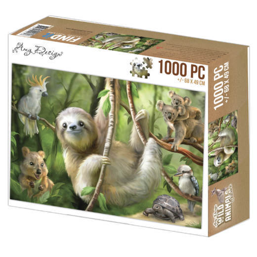 Puzzel Amy Design - sloth