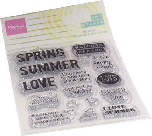 Marianne Design Clearstamps - Art Stamps - summertime