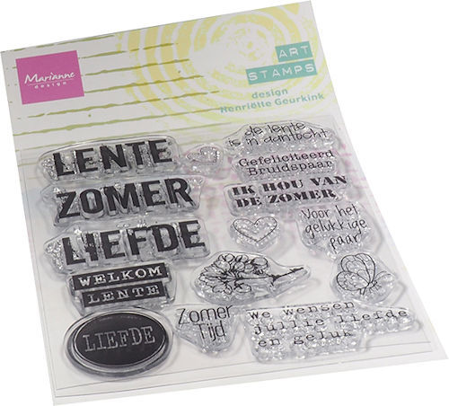 Marianne Design Clearstamps - Art Stamps - zomertijd
