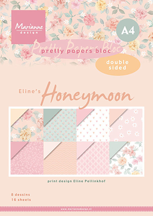 Pretty Papers Bloc - Eline's Honeymoon