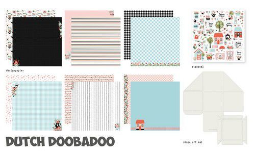 Dutch Doobadoo Crafty Kit XL - happy spring