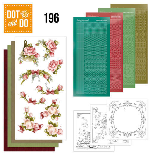 Dot & Do Hobbydots Pakket - romantic roses