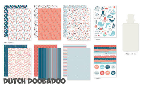Dutch Doobadoo Set - sea bottom
