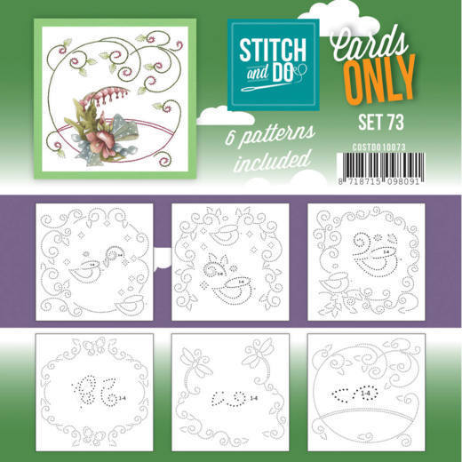 Stitch and Do Cards Only - set 73