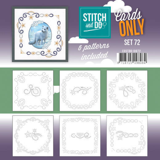 Stitch and Do Cards Only - set 72