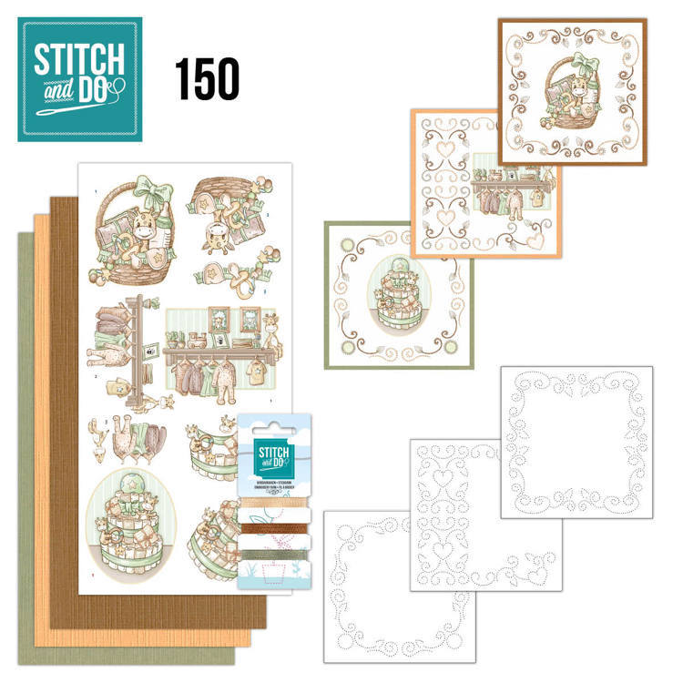 Stitch and Do Pakket 150 - newborn
