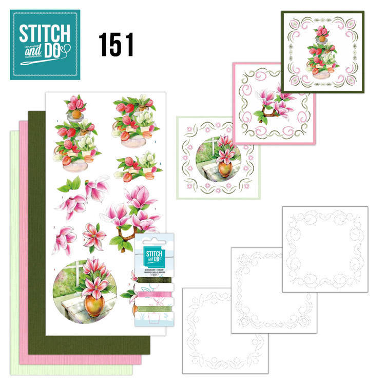 Stitch and Do Pakket 151 - welcome spring