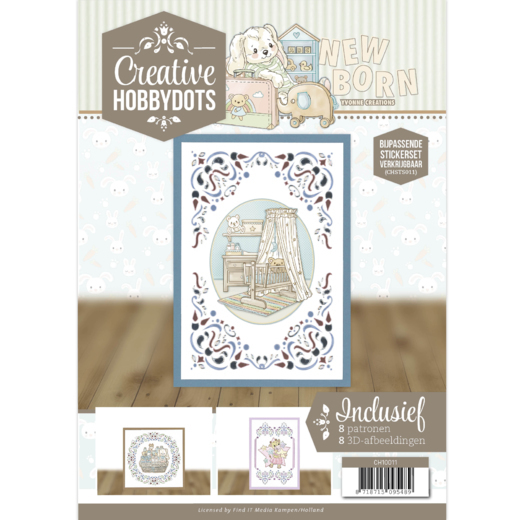 Creative Hobbydots 11 - Yvonne Creations - New Born