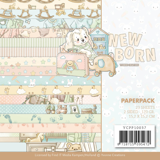 Paper Pack Yvonne Creations - New Born