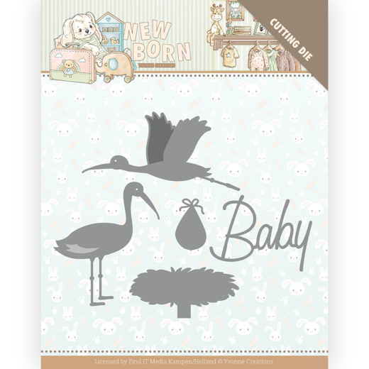 Yvonne Creations Stans - New Born - stork