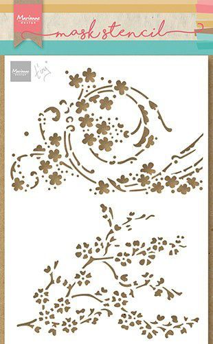 Marianne Design Craft Stencil - Tiny's bloesem