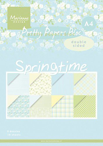 Pretty Papers Bloc - Springtime