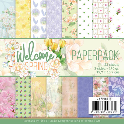 Paper Pack Jeanine's Art - Welcome Spring