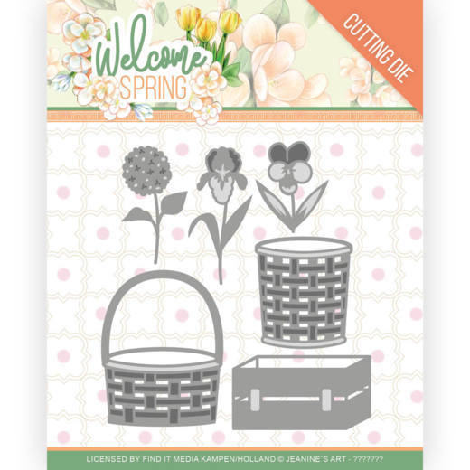 Jeanine's Art Stans - Welcome Spring - spring basket
