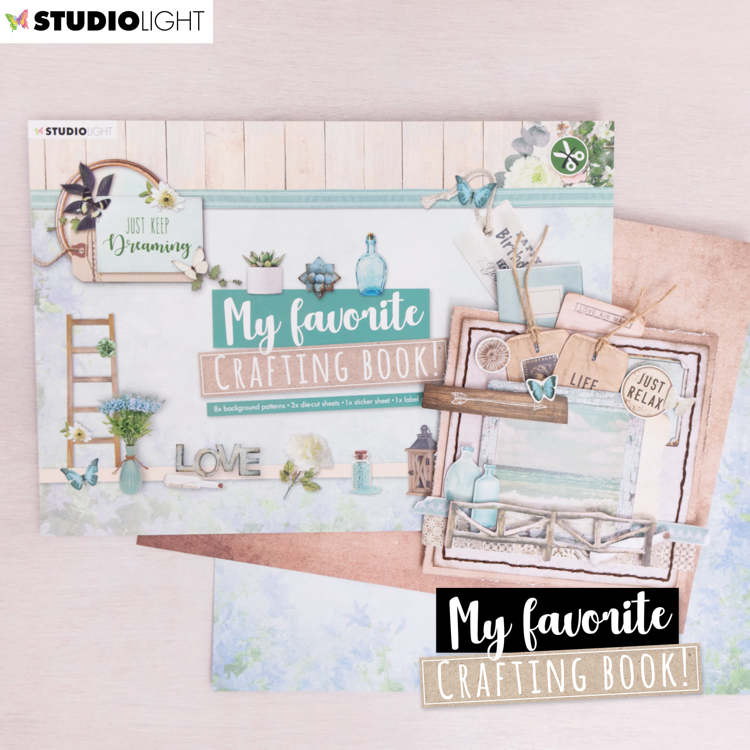 Studio Light My Favorite Crafting Book A4 - just keep dreaming