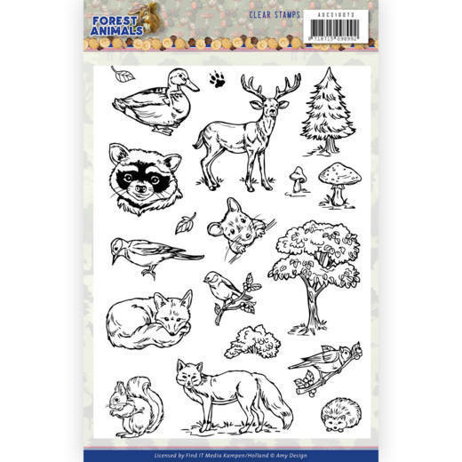 Clearstamps Amy Design - Forest Animals