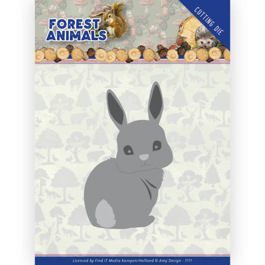 Amy Design Stans - Forest Animals - bunny