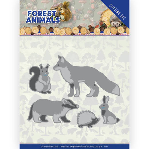 Amy Design Stans - Forest Animals - forest animals 2