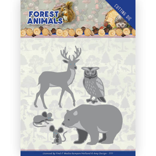Amy Design Stans - Forest Animals - forest animals 1