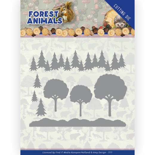 Amy Design Stans - Forest Animals - in the forest