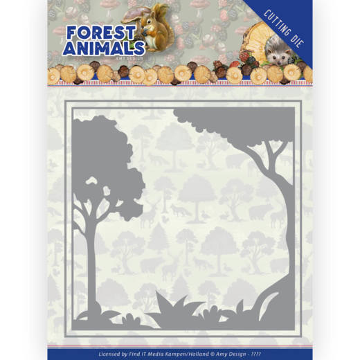Amy Design Stans - Forest Animals - forest frame