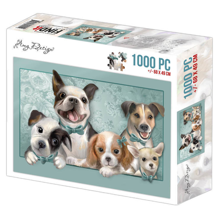 Puzzel Amy Design - dogs