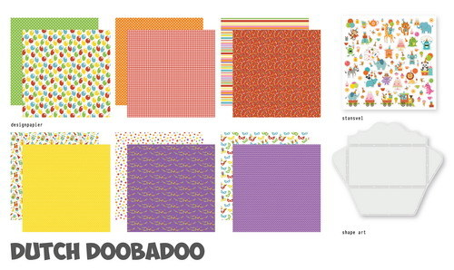 Dutch Doobadoo Crafty Kit XL - time to party