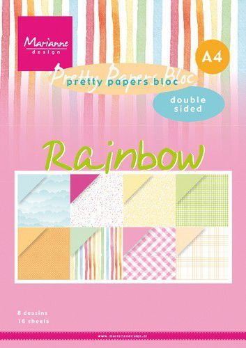 Pretty Papers Bloc - Rainbow