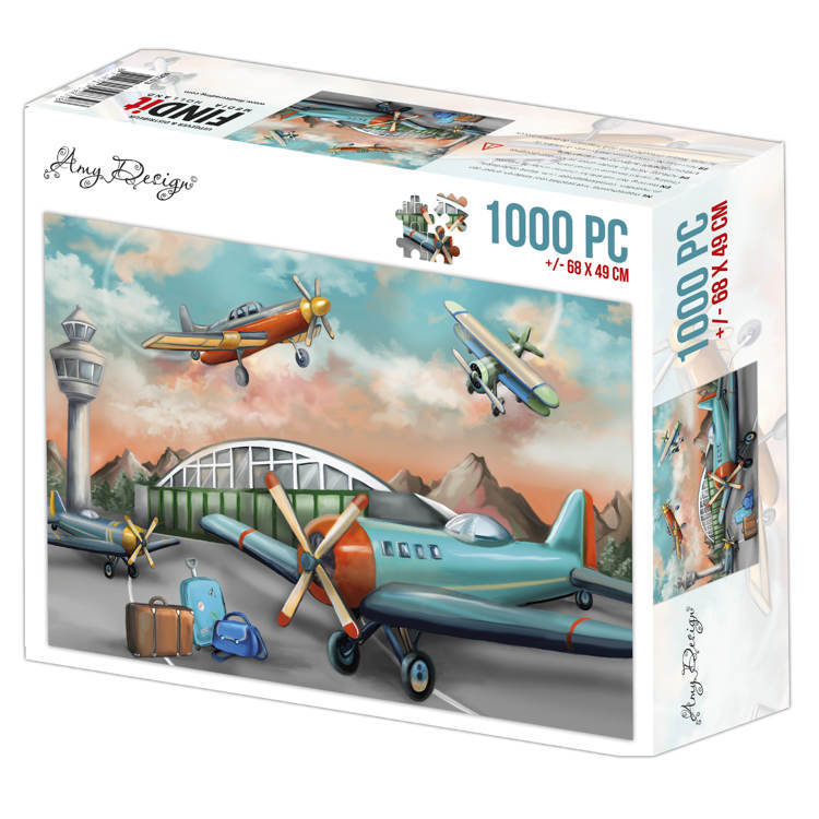 Puzzel Amy Design - planes