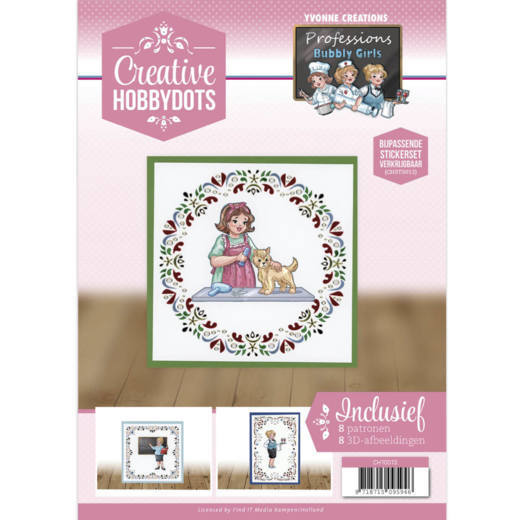 Creative Hobbydots 13 - Yvonne Creations - Bubbly Girls Professions