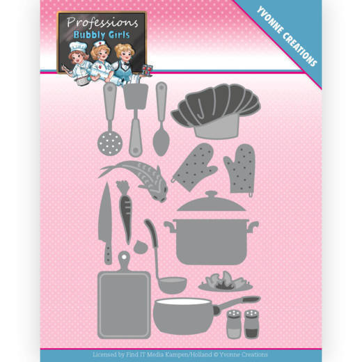 Yvonne Creations Stans - Bubbly Girls Professions - kitchen