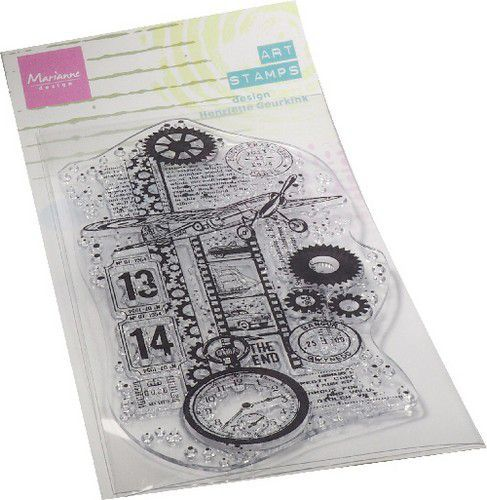 Marianne Design Clearstamps - vliegtuig