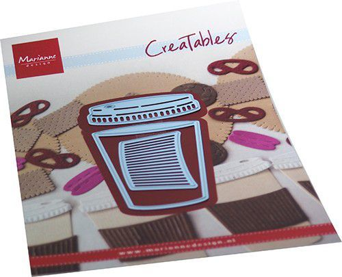 Creatables Marianne Design - coffee to go