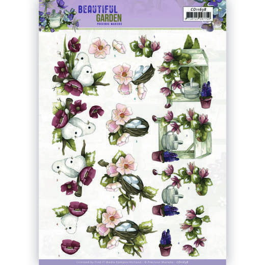 Knipvel Precious Marieke - Beautiful Garden CD11638