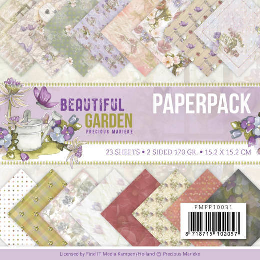 Paper Pack Precious Marieke - Beautiful Garden