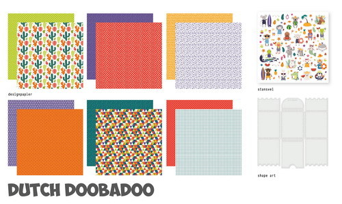 Dutch Doobadoo Crafty Kit XL - tropical vibes