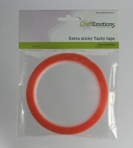 Extra Sticky Tape - breedte 6 mm.