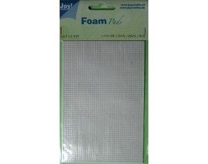 Joy Foam Pads - 2.5 x 2.5 mm - dikte 1 mm.