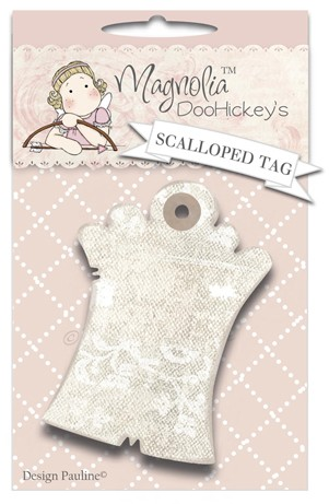 Magnolia Doohickeys Cutting Die - Scalloped Tag