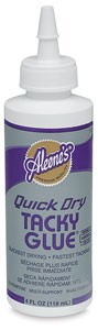 Aleene`s Quick Dry Tacky Glue - 118 ml.